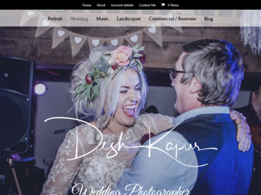 Desh Kapur Photography Website