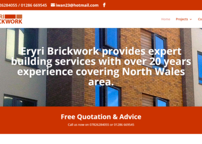 Eryri Brick Work